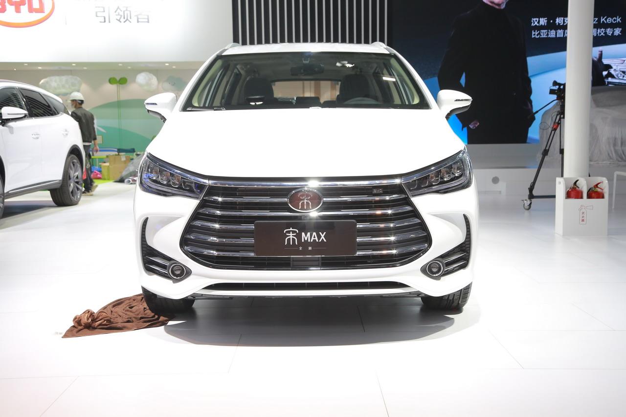 2019广州车展实拍:比亚迪宋MAX