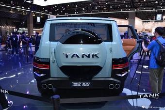 2021上海车展实拍:坦克700
