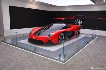2021上海车展实拍:红旗S9