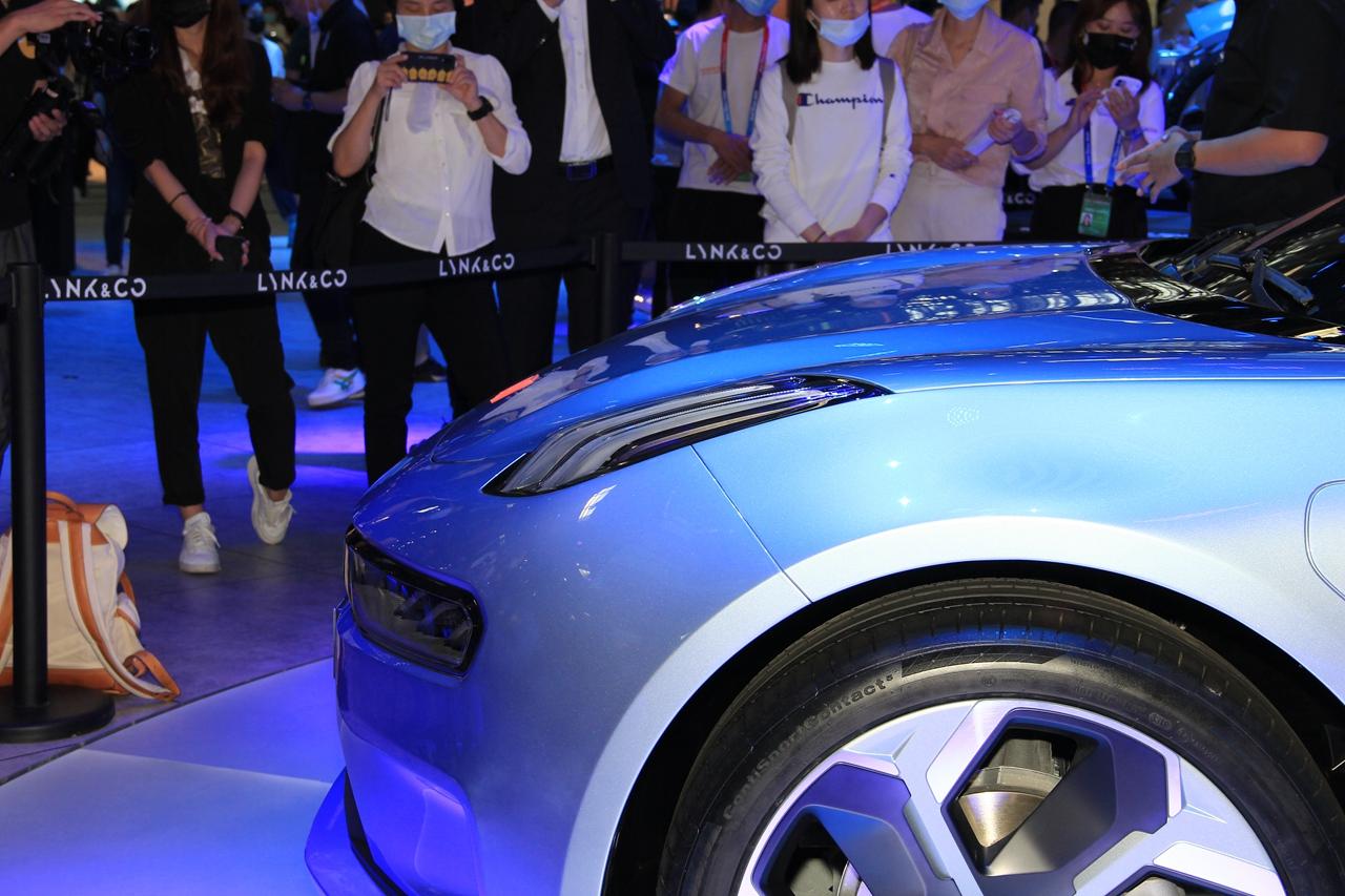 2020北京车展实拍:领克ZERO concept