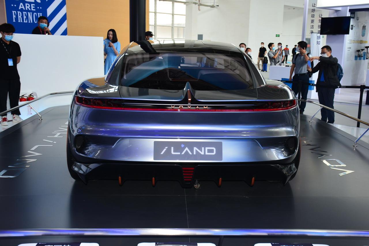2020北京车展实拍:岚图i-Land概念车