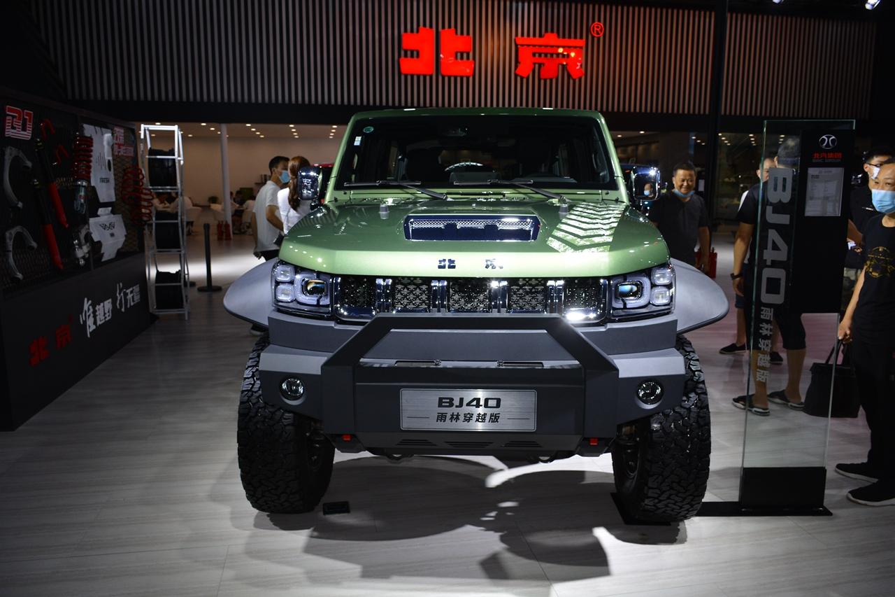 2020成都车展实拍:北京BJ40