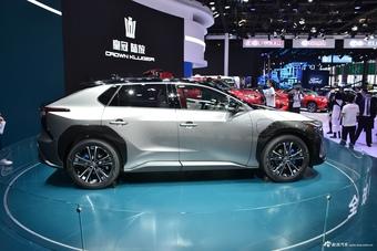2021上海车展实拍:丰田bZ4X