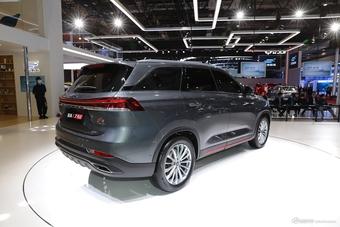 2021上海车展实拍:欧尚X7 PLUS