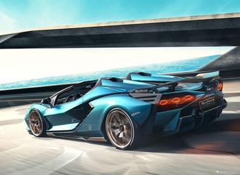 2020款兰博基尼Sián Roadster