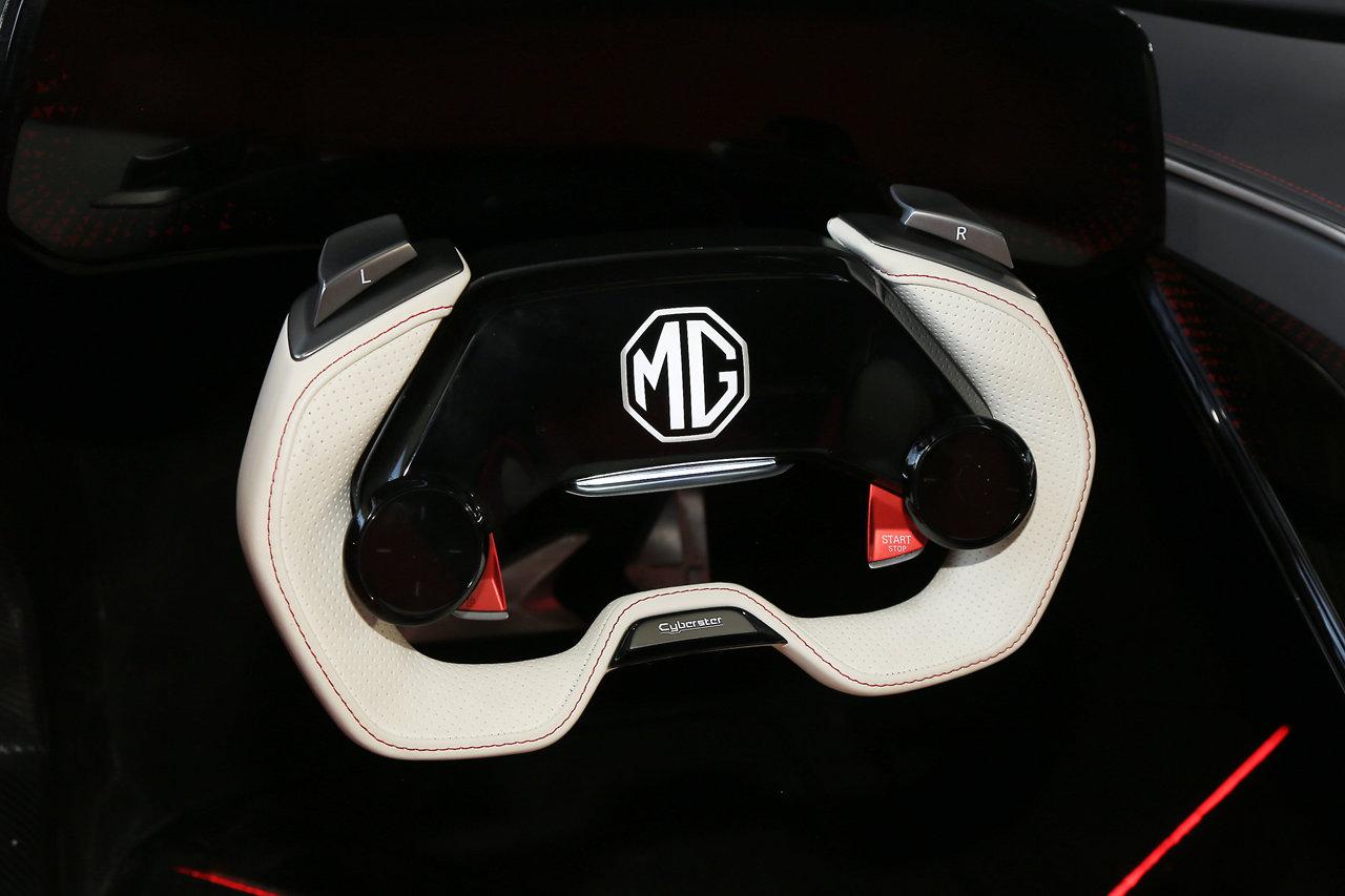 2021款MG Cyberster概念跑车