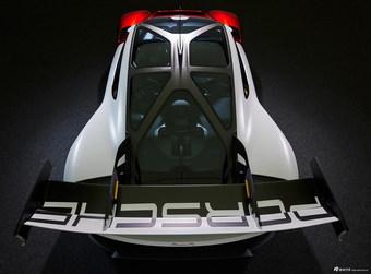 2021款保时捷Mission R概念车