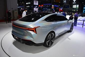 2021上海车展实拍:哪吒S
