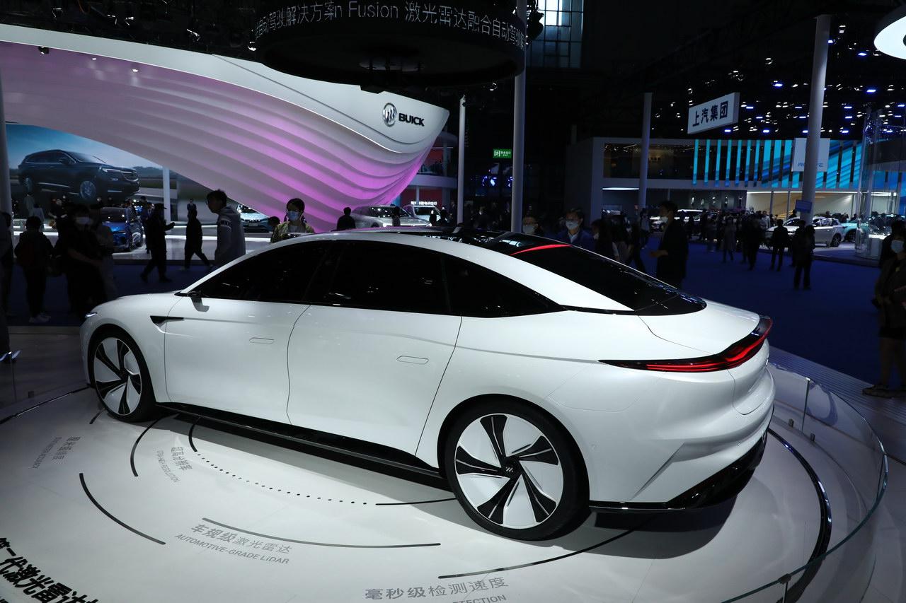 2021上海车展实拍:智己L7