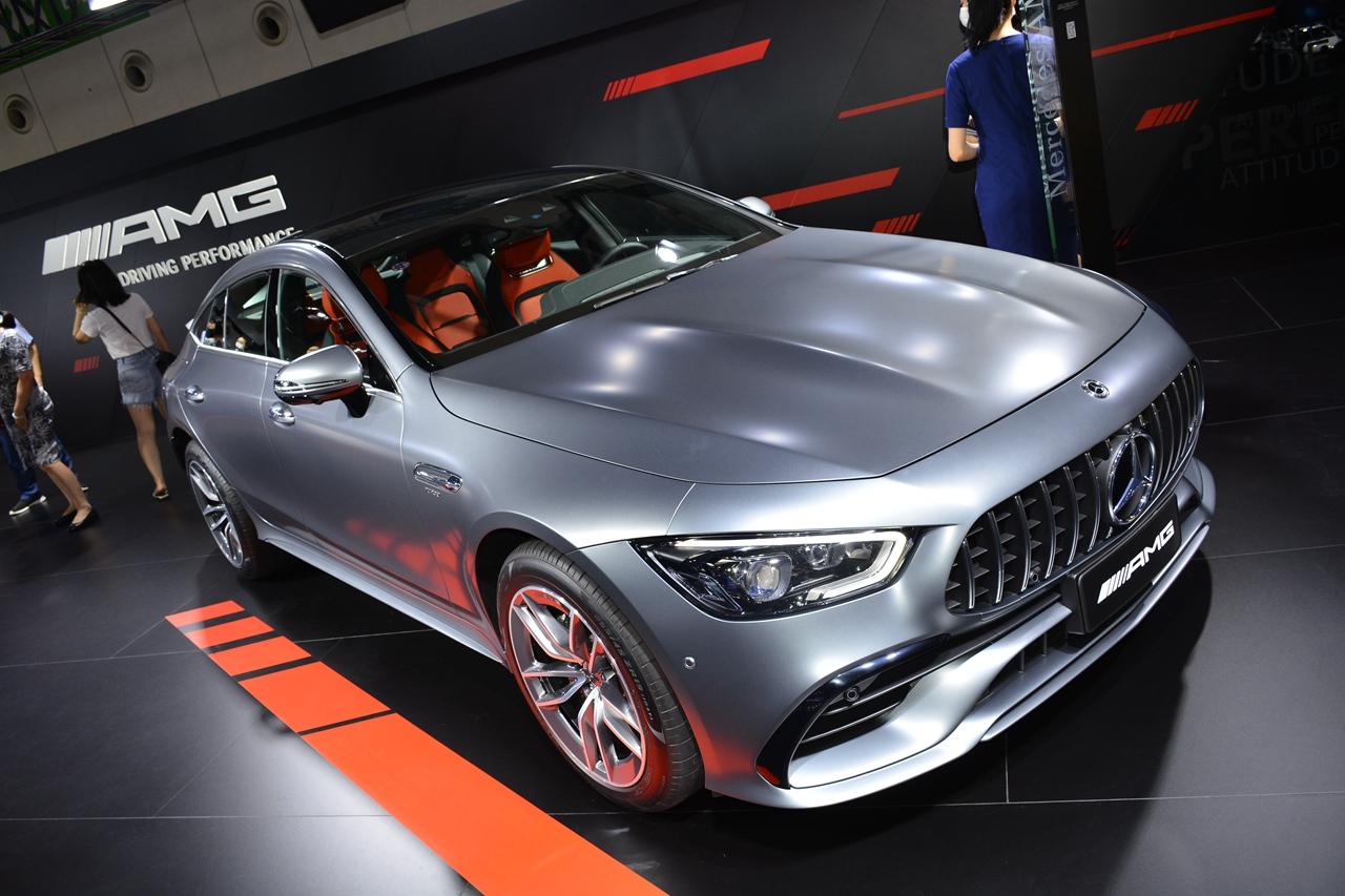 2020成都车展实拍:AMG GT